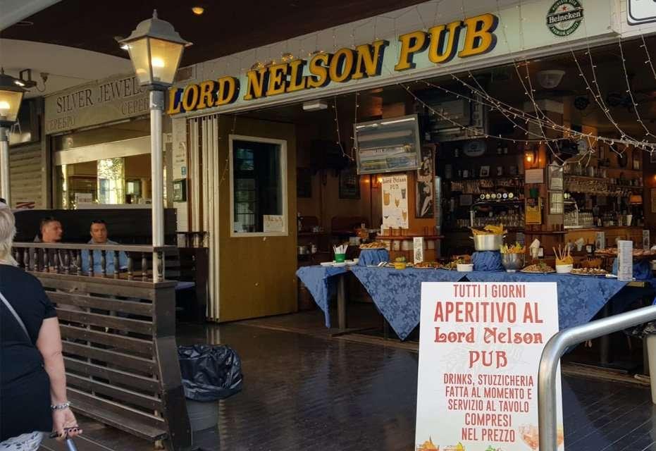 Esterni del Lord Nelson di Rimini