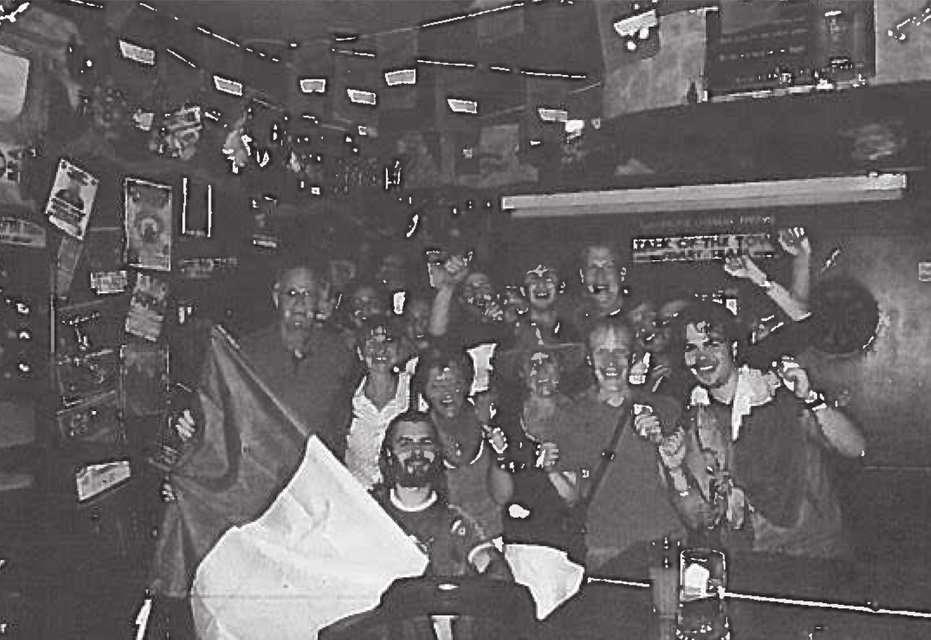 Shooters Bar Rimini durante una partita